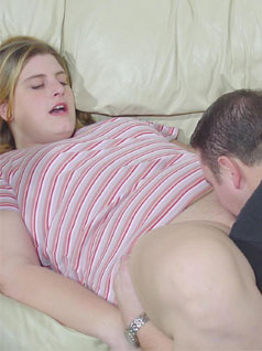 Big Woman Being Licked Out